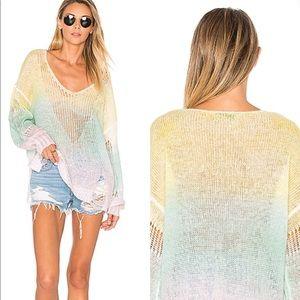 WildFox Couture Sundown Cheryl Sweater Beach Boho